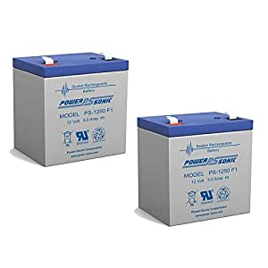 12v 6.0ah 5Ah Battery Razor E100 Electric Scooter & Gas - 2 Pack