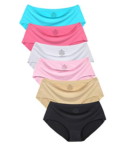 - Women's No Show Hiphugger Panties Pack of 6 XL