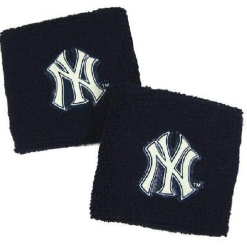 fan products of Franklin Sports MLB New York Yankees Wristbands