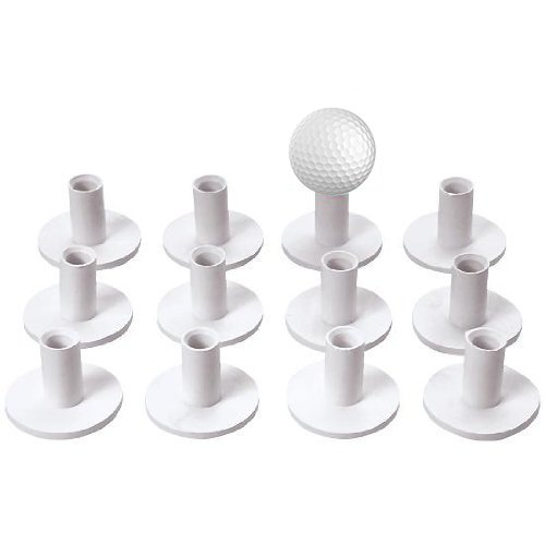 Tee Rubber Golf - Coast Athletic Rubber Golf Tees (1.25 Inches High) (12 Pack)