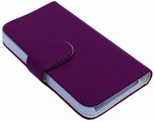 Avcibase 4260310645001 Kunstleder Flip Seitentasche für Apple iPhone 5/5S lila