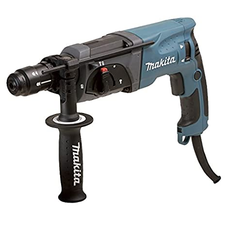 Makita HR2470FT Martillo ligero SDS-Plus 780W + mandrino intercambiable: Amazon.es: Bricolaje y herramientas