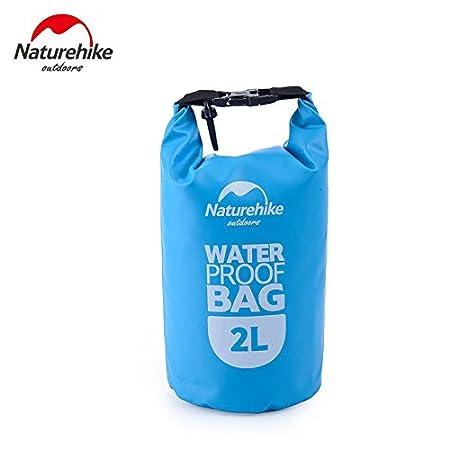 Bolsa impermeable Naturehike ultraligera para rafting azul