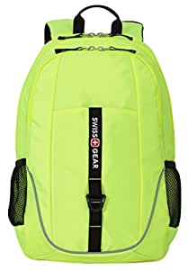 Swiss Gear SA6639 Neon Yellow Laptop Backpack - Fits Most 15 Inch Laptops and Tablets