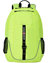 SA6639 Neon Yellow Laptop Backpack - Fits Most 15 Inch Laptops and Tablets