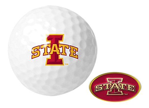 NCAA Iowa State Cyclones - Golf Ball One Pack with Marker