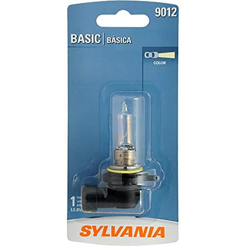 Headlights Halogen Sylvania (Sylvania 9012 Basic Halogen Headlight Bulb (1 Pack))