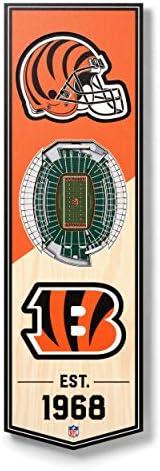 NFL Unisex-Adult 3D Stadium Banner