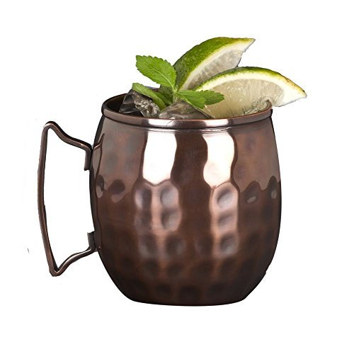 World Tableware MM-100 Hammered Copper Moscow Mule 14 Oz Mug - 12 / CS by World Tableware by World Tableware