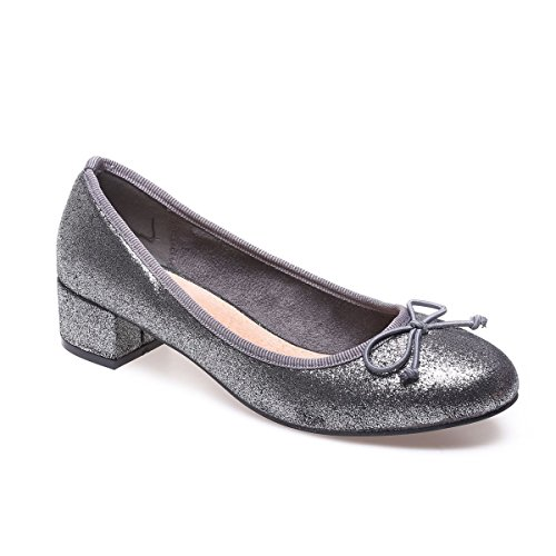 Zapatos grises formales La Modeuse para mujer A8JeOIK4