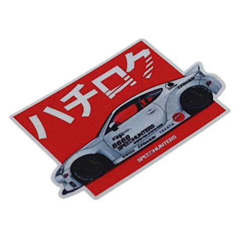 Horayten Car Styling Decals Auto Body Window Sticker for Japanese JDM Drift SH AE86 Rocket Bunny 3M (100x63mm) -