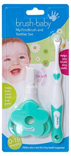 Brush-Baby mon premier pinceau et ensemble anneau de dentition BrushBaby Ltd BRB097 X144