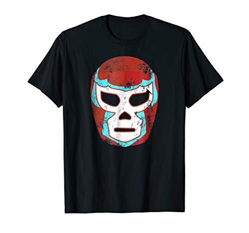 Lucha Libre Wrestling Mask Mexican Luchador Retro T Shirt