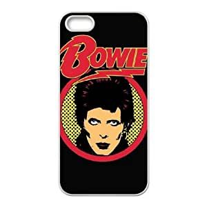 David Bowie Iphone 4 4S Cell Phone Case White JNCC8446