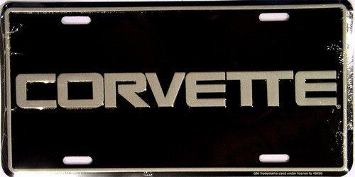 (Ramsons Imports America Sports Corvette License Plates)