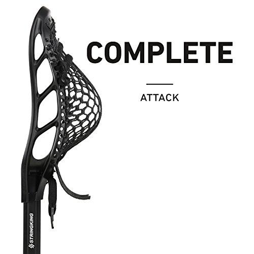 - String King Complete Attack Lacrosse Stick (Alloy Shaft Black/Black)