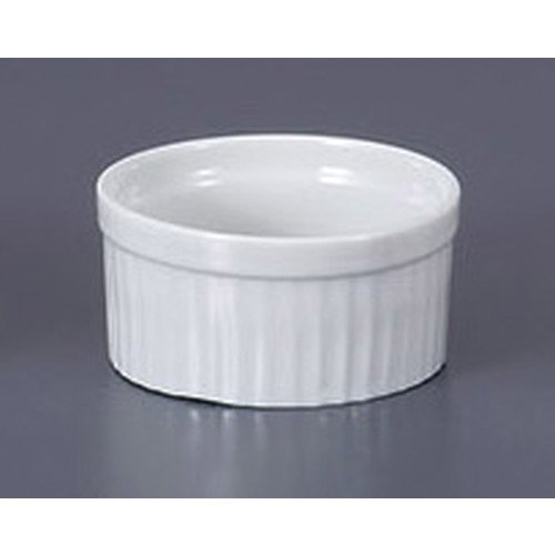 [mkd-790-19-24e] Western-style single item white souffle 3.5 [8.7 x 4.5 cm] Ryotei Ryokan Japanese-style machine for eating and drinking establishment by SETOMONOHONPO
