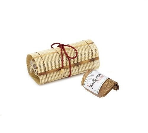 Bamboo Japanese Lunch Box for Rice Ball Omusubi in Basket with a String 7.4 x 3.3 x 2.9 inches From Japan