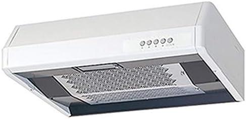三菱 レンジフードファン 浅形 高静圧・丸排気タイプ 左排気専用 幅700mmタイプ 接続パイプφ150mm ホワイト V-37KCP5-L