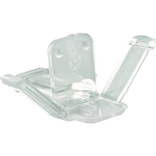Prime-Line Products L 5625N Window Screen Retainer Clips, 1-5/8 in, Plastic, Clear, 525 (Pack of 2), ()