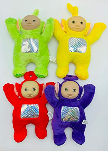 "Stuffed Toys Teletubbies 8.5"" Tall Set of 4 Includes Po, Dipsy, Laa Laa, Tinky Winky"