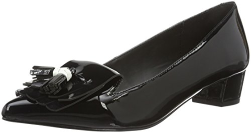 Miss KG Damen Anita Slipper Schwarz (Black/Comb)