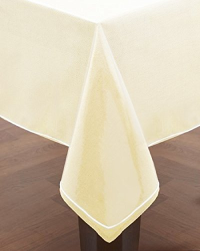 - Home Essentials Clear Heavy Duty Vinyl Tablecloth Protector, Oval 60