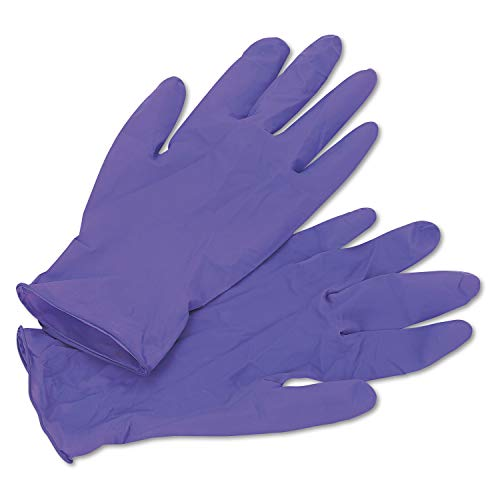 Haylard Health Professional 55082 PURPLE NITRILE Exam Gloves, 242 mm Length, Medium, Purple (Box of 100)