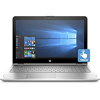 HP ENVY x360 15-inch Convertible Laptop, Intel Core i7-7500U, 8GB RAM, 256GB solid-state drive, Windows 10 (15-aq110nr, Silver)
