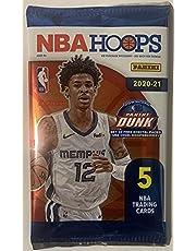 2020-21 Panini NBA Hoops Basketball Trading Cards Pack