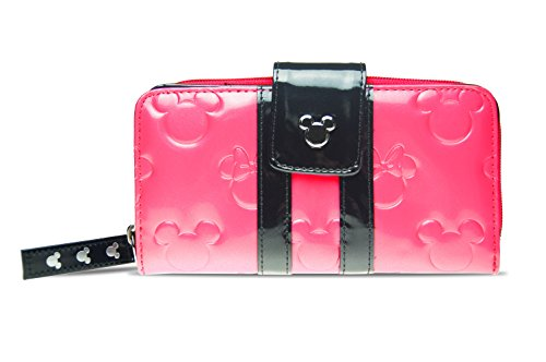 Disney Parks Bubble Gum Pink Loungefly Wallet Minnie Loves Mickey Mouse Clutch by Theme Park Merchandise (Image #4)
