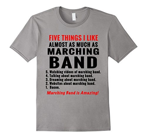 - 5 Things about marching band funny Tee Shirt