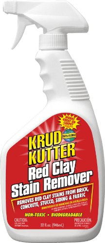 KRUD KUTTER RC32 Red Clay Stain Remover, 32-Ounce (Clay Brick Red)