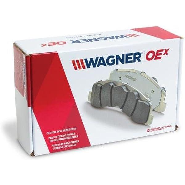 Disc Brake Pad Set-OEX Disc Brake Pad Rear Wagner OEX1086