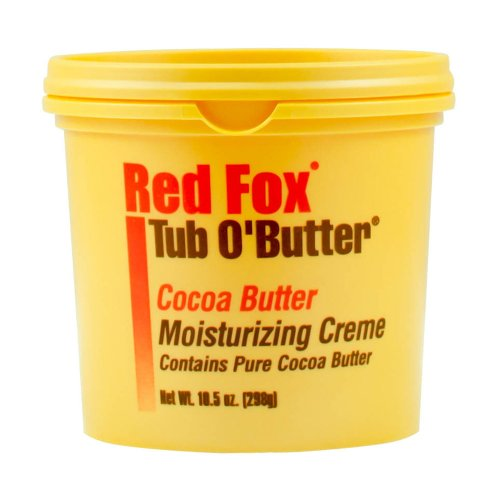 Cocoa Red (Red Fox Tub O' Butter Cocoa, Moisturizing Creme 10.5 oz)