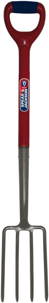 Spear /& Jackson Select Carbon Digging Fork