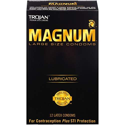 MAGNUM Large Size Condoms, 12ct