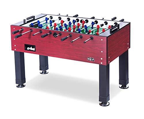 KICK Ambassador 55″ in Foosball Table (Foosball Table Mahogany)