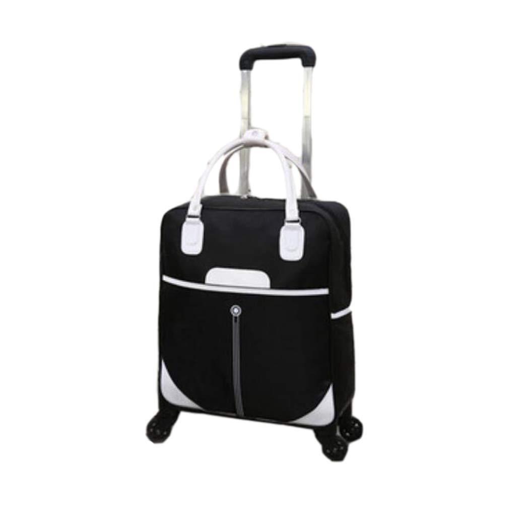 4スピナーホイール荷物旅行スーツケース付き多機能ユニセックスハンドバッグトロリーケース (色 : B, サイズ さいず : 20 inches) 20 inches B B07MLFV82D
