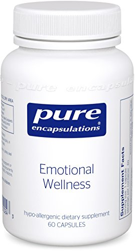 Pure Encapsulations - Emotional Wellness - Supports Mental Well-Being and Helps Moderate Occasional Stress* - 60 Capsules