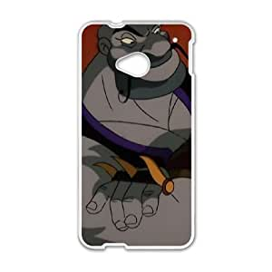HTC One M7 Phone Case White Aladdin and the King of Thieves Sa'luk YU9408385