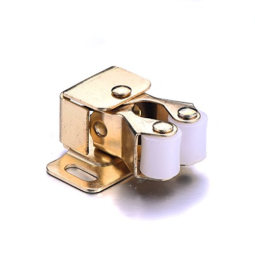Atoplee 8pcs Cupboard Cabinet Caravan Door Metal Double Roller Catch Latch Hardware