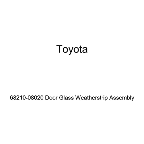 Toyota Genuine 68210 08020 Door Glass Weatherstrip Assembly