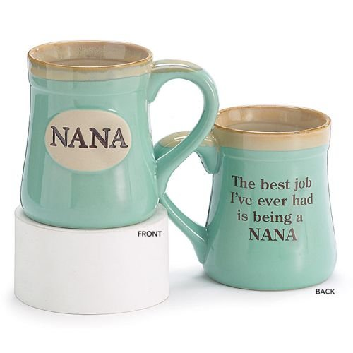 Nana Best Job Ever Porcelain Mug (Nana Gift)