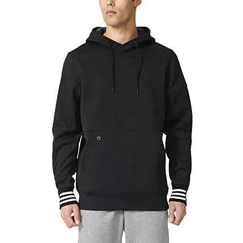 Adidas Sport ID Mens Bonded Fleece Pullover Hoodie XL (Bonded Fleece Pullover)