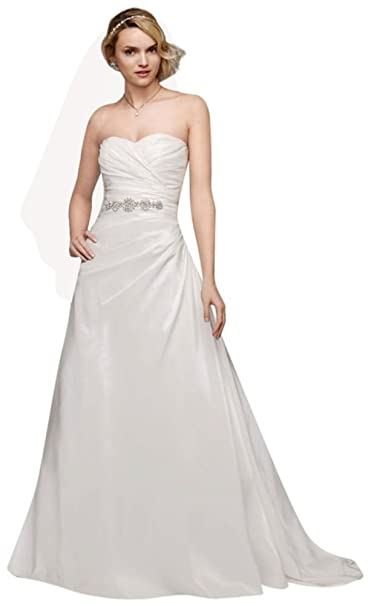 David's Bridal Sweetheart Dress