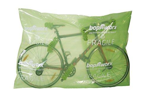 Bopworx Heavy Duty Bicycle Polythene Travel Bag - Ideal Cover For Bike Transportation and Storage by Bopworx (Image #4)