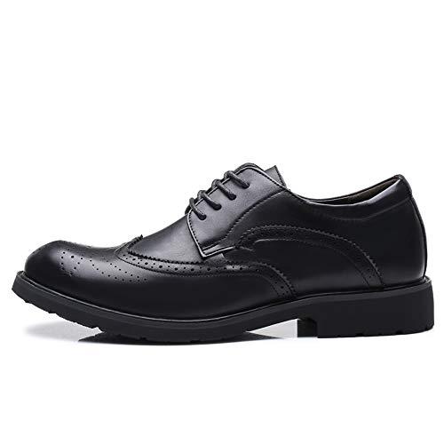 Intagliati Marrone 40 Oxford Riposo Casual Pelle Scarpe Uomo Da 2018 shoes Classiche Con Eu Brogue Lacci Nero Jiuyue Dimensione Uomo color UwIqa7q