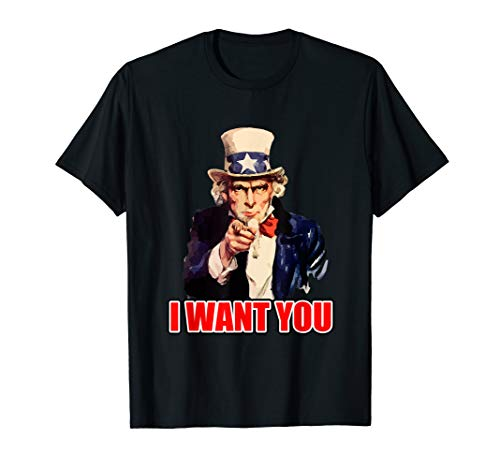 Vintage Uncle Sam - I Want You Uncle Sam T Shirt Vintage