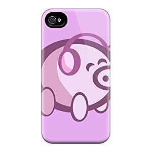 Brand New 4/4s Defender Case For Iphone (happy Piggy)
